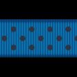 Medium Ribbon - Polka Dots 01 - Blue & Navy