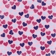 Hearts 12 Paper - Pink & Purple
