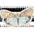 Distressed Butterfly Ephemera 04