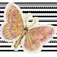 Distressed Butterfly Ephemera 05