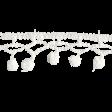 Frozen Crochet Border - White