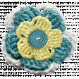 Frozen Crochet Flower - Multi Color