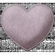 Be Mine - Purple Felt Heart