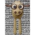 At The Farm - Felt Goat