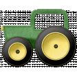 At The Farm - Felt Tractor