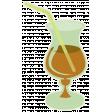 Sunshine & Lemons - Brown Cocktail Sticker