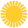 Sunshine & Lemons No2 - Sun Sticker