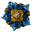 Arrgh! -Navy Stacked Flower
