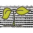 The Veggie Patch - Seedling Sticker