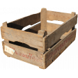 The Veggie Patch - Wooden Crate