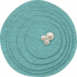 Sweet Dreams - Felt - Circles - Blue
