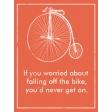 Ride A Bike - Journal Card 02