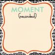 Ride A Bike Word Bits - Moment - Tag