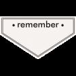 Ride A Bike Word Bits - Remember Tag