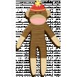 Oh Baby Baby June 2014 Blog Train - Sock Monkey
