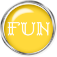 Sand And Beach - Fun Button