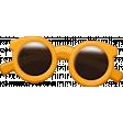 Sand And Beach - Sunglasses Orange