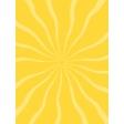 Sand & Beach - Sun Rays - Journal Card