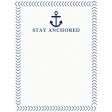 Sand & Beach - Stay Anchored - Journal Card