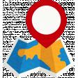Sand And Beach - Travel Map Sticker