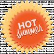 Heat Wave Elements - Hot Summer Label
