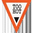 Heat Wave Elements - Too Hot Label
