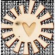Heat Wave Elements - Wooden Sun