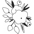 At The Fair - Flower Stamp