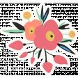 At The Fair - Flower Sticker
