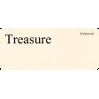 Buried Treasures - Flash Card