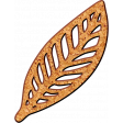 Buried Treasures - Wood Chip Leaf