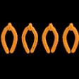 It's Elementary, My Dear - Orange Stitch