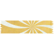 t's Elementary, My Dear - Yellow Starburst Washi Tape
