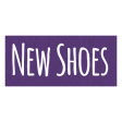 New Shoes Word Art