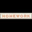 Homework Word Art 02