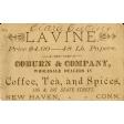 Independence Tea Card Ephemera