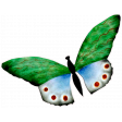 Reading, Writing, and Arithmetic - Paper Butterfly