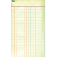 Reading, Writing, and Arithmetic - Ledger Paper