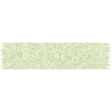 Reading, Writing, and Arithmetic - Green Floral Washi Tape
