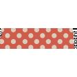 Orange Polka Dot Washi Tape