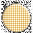Yellow Gingham Pendant