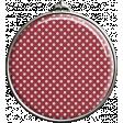 Round Red Polka Dot Pendant