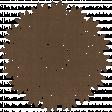 Be Mine - Dark Brown Doily