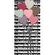 Be Mine - Unshadowed Glitter Balloon Bouquet