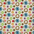Christmas Memories - Fabric Flower Paper