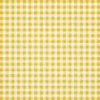 Yellow Gingham Fabric Paper