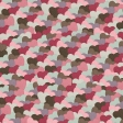 Be Mine Mini Patterned Paper Colorful Hearts