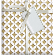 Quilted With Love - Vintage Yellow Cathedral Window Fat Quarter