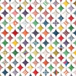 Quilted With Love - Modern Rainbow Cathedral Window Paper 2