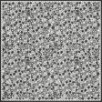 Black Flower Cutout Paper